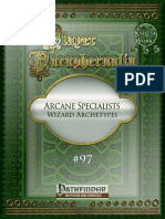 Player Paraphernalia 97 - Arcane Specialists (Wizard Archetypes)