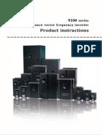 9100 User manual