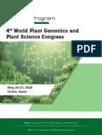 Plant Genomics Osaka Conference Program