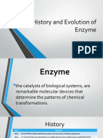 History and Evolution of Enzyme