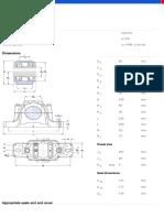 Split plummer block housings  SNL and SE series for bearings on an adapter sleeve  with standard seals-SNL 515-612 + 22215 K + H 315