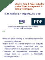 Water Conservation_RM Mathur