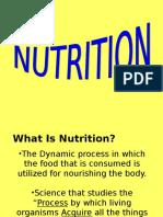 nutrition lecture part 1