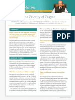 the-priority-of-prayer