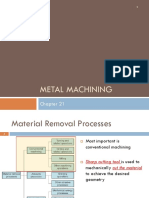 Lecture-5 Metal Machining