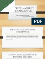 INSTRUIREA ASISTATĂ DE CALCULATOR