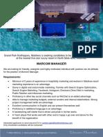 GPKD JobAd Marcom Manager
