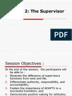 6.The Supervisor Adapts