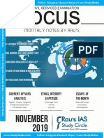 Rau's IAS Focus Magazine November 2019
