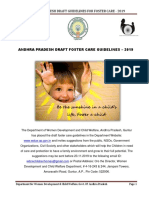 AP Draft Foster Care Guidelines 2019