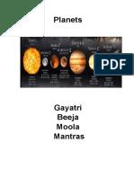 Planet Mantras