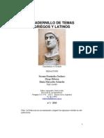 Cuadernillo de Temas Griegos y Latinos