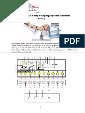 instrument de slăbire multifuncțional manual tm-502 manual
