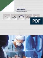 Corpuri de Iluminat Special Pentru Spatii Medicale AGA LIGHT