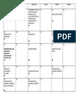 CRONOGRAMA DE EXPOSICIONES RESIDENTES