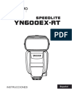 Manual en Espanol YN600EX-RT
