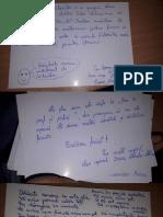 Elevii Colegiului Militar din Craiova le-au trimis scrisori și felicitări militarilor din Afganistan