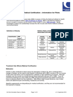 Information Sheet on Obesity