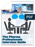 The Pharma Professionals Interview Guide.pdf