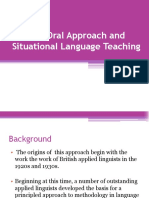 (PPT) Oral Approach and SLT