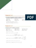 Matematicas Resueltos (Soluciones) Numeros Reales 1º Bachillerato Ciencias de la Naturaleza