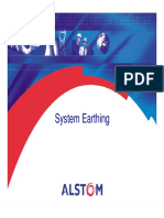 system earthing Alstom