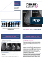 Dense Breast Info Patient Brochure English