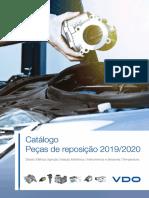VDO CATALOGO PEÇAS DE REPOSIÇÃO 2019_2020