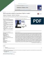 Metal speciation analysis of petroleum Myth or reality.pdf