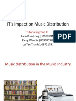 IT's Impact on Music Distribution