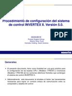 Procedimiento para actualización de software de invertex II Version 5.0 (4)