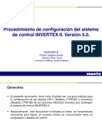 Procedimiento para actualización de software de invertex II Version 5.0 (4)
