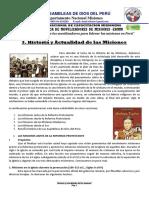 HISTORIA Y ACTUALIDADES DE LAS MISIONES - JHENSS JOHAN AGUERO RAFAELO