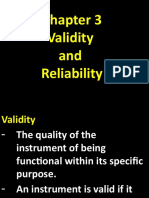 CHAPTER 3 Validity and Reliability.pptx