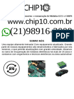 Manutenção Módulos (21) 98916-3008 Zap Sao Paulo