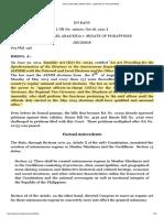 6. DATU MICHAEL ABAS KIDA v. SENATE OF PHILIPPINES