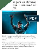 Requisitos para un Director de Alabanza ~ Conexión de Adoradores.pdf