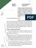 ACUSACION NO BASADA EN INFERENCIAS