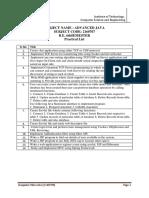 AJ-2160707 -Practical List