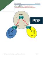 Configuring Multi-Area OSPFv3