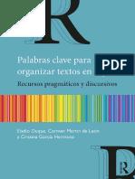 Palabras clave para organizar textos en español.pdf