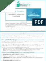 Euphemisms Worksheet Set
