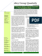 Policy Group Quarterly 2