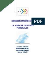 Marketing Marche Eaux Minerales