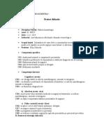 proiect Balneoclimatologie.doc