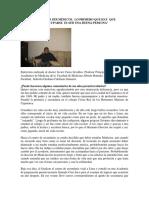 Entrevista Dr Cieza - Ser médicos y buenas personas