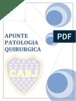 Resumen Patologia Quirurgica 2017 - Gaston Galfre