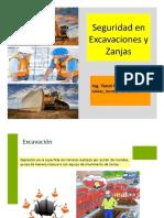 Seguridad en Excavaciones y Zanjas