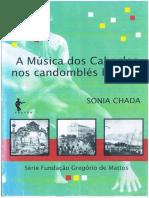 Sonia Chada_Musica dos Caboclos