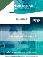 Microorganismos patógenos e indicadores para inocuidad alimentaria